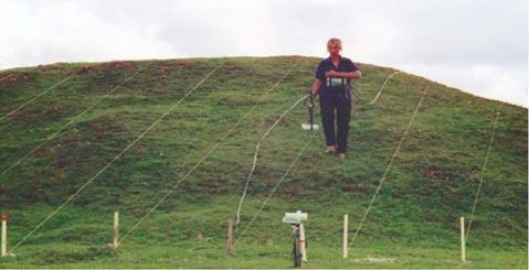 Площадные магнитометрические исследования