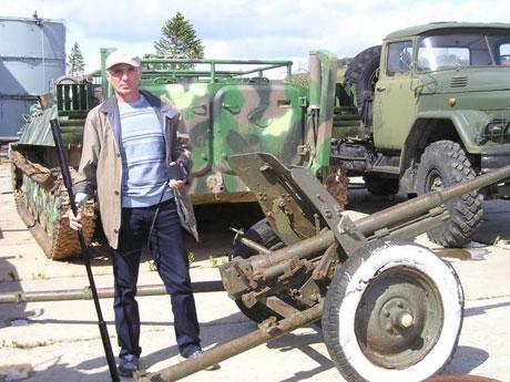 Пушка времён Великой Отечественной войны