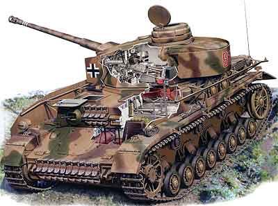 СРЕДНИЙ ТАНК Т-IV Panzerkampfwagen IV - фото с сайта http://pro-tank.ru/