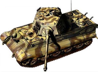 ТЯЖЕЛЫЙ ТАНК Т-VI (Panzerkampfwagen VI) фото с сайта http://pro-tank.ru/