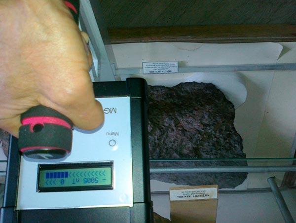 Поиски метеоритов с помощью магнитометров и градиентометров