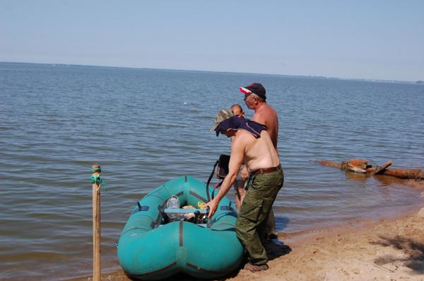 Поиски на водоёмах